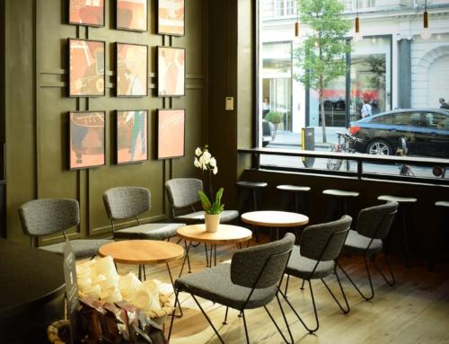 Cafe in Londen, Engeland